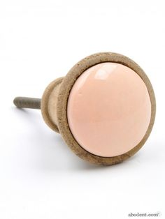 Scandi Wooden Cupboard Knob | Ceramic & Wood Handles | Unique Knobs, Hooks & Homeware | abodent.com