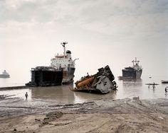 Shipbreaking, Bangladesh by Roy Zipstein, via Flickr