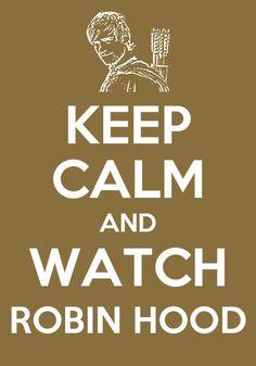 sorry but I am NEVER calm when i watch robin hood. :D