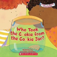 Who Stole The Cookie From The Cookie Jar Book Who Stole The Cookie  Pinterest  Circle Game Cookie Jars And Jar
