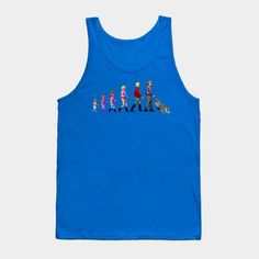 The Evolution Of A Space Janitor - Mens Tank Top