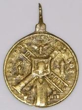 Arma Christi Instruments of The Passion Renaissance Pilgrims Bronze Holy Medal Solomon Gold, King Solomon, King David, Holi, Pocket Watch, Renaissance, Instruments, Bronze, Passion