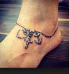 Tattoo Fußband