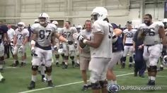 EPIC FAIL!!! Penn State's Spring Practice Punt Catch Competition