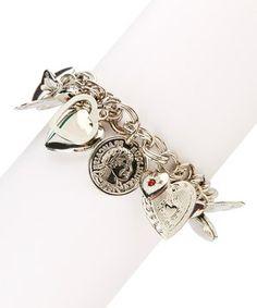 Look what I found on #zulily! Silver Lockets of Love Charm Bracelet by SWAROVSKI #zulilyfinds