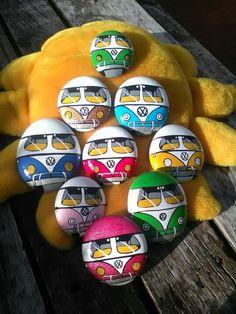 VW painted rocks