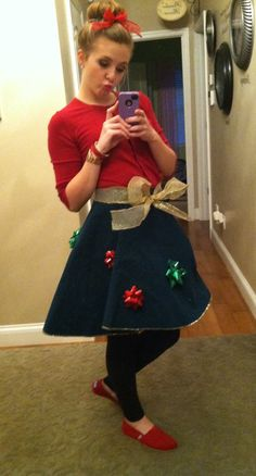 Christmas Tree Skirt Sweater