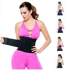 54b677b6f2746 Nuvo Fit Latex Sports Workout Women s Waist Cincher Trainer Body Shaper Belt   gt  gt