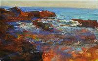 Blue in the Tidepool by David Allen Dunlop