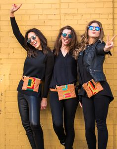 A Music Festival Essential.... mochila belt bags... Wayuu woven fabrics and soft leather make this a stylish version for concerts and festivals.