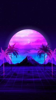 Glitch Moon iPhone Wallpaper - iPhone Wallpapers