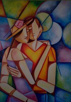 pinturas de casais - Pesquisa Google