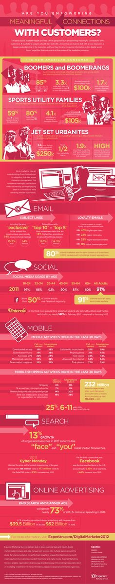 2012 Digital Marketer Infographic