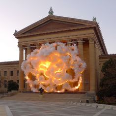 Cai Guo-Qiang Fallen Blossoms | Flickr - Photo Sharing!