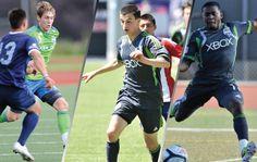 Sounders U-23 sign three Academyalumni