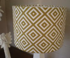 lamp shade $48 from anelementofstyle on etsy