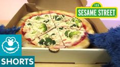 Just yesterday, Cookie Monster uncovered a lovely pizza box.  He discovered the many shapes this delicious meal has, including a square, circle, and triangles.  Watch this fun video now: https://www.youtube.com/watch?v=Cg7b93l96N0