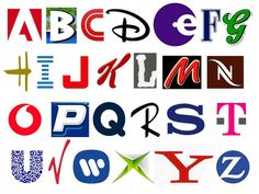 Brands or Logos using the letters of the Alphabet - Logo Alphabets Article