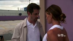 "Burn Notice 4x12 ""Guilty as Charged"" - Fiona Glenanne (Gabrielle Anwar) & Rudy (Tommy Groth)"