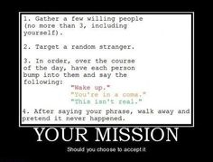 I really want to do this now