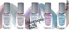 Pronte per un tocco olografico? HOLOGRAPHIC TOUCH Collection!   Uno smalto capace di esaltare la luce e trasformarla in arcobaleni multicolore davvero glamour. Una cascata di colori e di luce dall'effetto mozzafiato. ... SHINE YOUR NAILS!   http://www.minycosmetics.com/colori.php?idcategoria=63    #nails #nailpolish #naillacquer #silver #holographic #manicure #cosmetics #glamour #fashion #style #stile #moda #love #girl #women