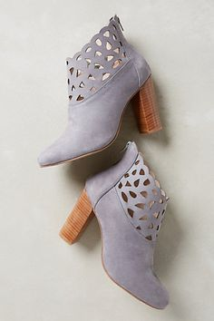 Bea Lacy Booties - anthropologie.com