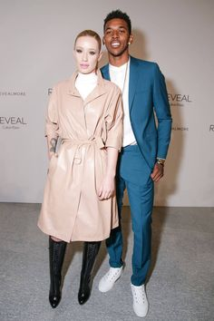 Iggy Azalea and Nick Young  at Calvin Kleins a Reveal Fragrance Launch