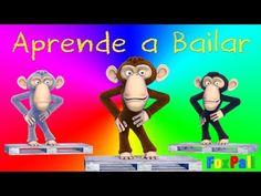 Cinco Gorilas Saltando - Cancion de los Numeros - Canciones Infantiles para Bailar - TuTuTrás Tv - YouTube