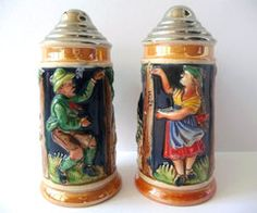 portugese salt and pepper shakers