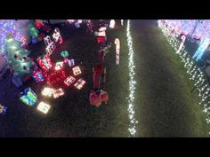 James Davidson created an aerial video of the Tripp Family Christmas Lights using a drone and a GoPro camera.