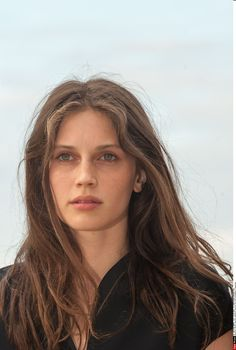 Marina Vacth, Beauty Makeup, Hair Beauty, Female Character Inspiration, French Beauty, Natural Face, Grow Hair, Portrait, Woman Face