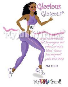 #gloriousgluteous