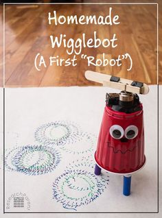 ELECTRICITY Homemade Wigglebot - A First Robot for Kids