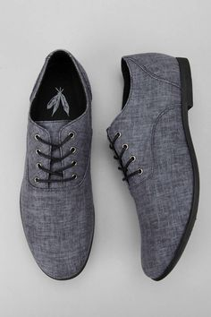 79e922011af Feathers Canvas Stentorian Oxford - Urban Outfitters Oxford Shoes For Men