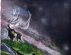 "Check out new work on my @Behance portfolio: ""El Alce de plata, en el bosque Boreal."" http://be.net/gallery/40343247/El-Alce-de-plata-en-el-bosque-Boreal"