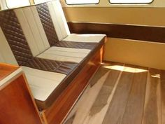 Presenting my VW Bus 1975 interior - YouTube