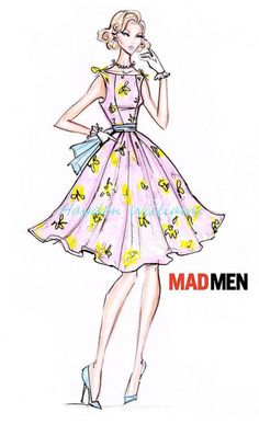 Hayden Williams Designs  MADMEN collection: Design #1
