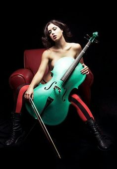 But really always wanted to play the cello...