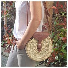 Round Palm Handbag