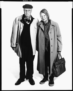 John Bayley and Iris Murdoch by Richard AvedonJohn Bayley and Iris Murdoch in London, December 1, 1995.