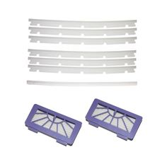 SHP-ZONE 2 HEPA Filters   6 compatible Blades and 1 Squeegee Replacement For Neato xv-11 xv-12 xv-14 xv-15 xv-21 XV Signature Pro -- You can get more details here : DIY : Do It Yourself Today