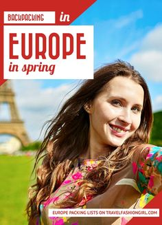 If you're backpacking in Europe this Spring, read this packing list to find out clothing suggestions, weather summary, and travel outfit ideas!