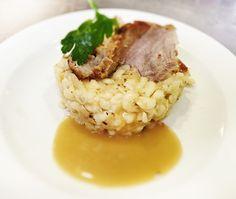 Denné menu Vranov | Strapačky so slaninkou a pečenou krkovičkou - reštaurácia Hotel Patriot*** #hotel #restaurant