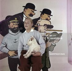 News Photo : Meeting With JeanPierre Talbot Playing Tintin...