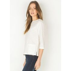 Blouse femme coton broderie anglaise, FRANGY SOMEWHERE   La Redoute Mobile