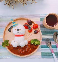 Party dog by AnT's Bento (@antsbento)