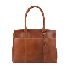 Wow...prachtige dames laptoptas! #wow #bag #laptop #macbook #laptopbag #leather #cognac #burkely #ladies #dames #women