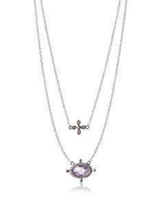 Freida Rothman PZ0799-L-16E Double Drop Necklace, Silver, http://www.myhabit.com/redirect/ref=qd_sw_dp_pi_li?url=http%3A%2F%2Fwww.myhabit.com%2Fdp%2FB00TDOA6S0%3F