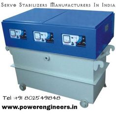 Buy #servostabilizers from #powerengineers.We are leading #ServoStabilizersManufacturersInIndia.