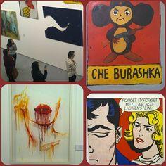 Multimedia art museum Moscow #MAMM #museum #multimedia #art #popart #lips #blood #museo #arte #russia #mosca #cheburashkaka #чебурашка @mamm_mdf #москва #итальянецвмоскве #culture